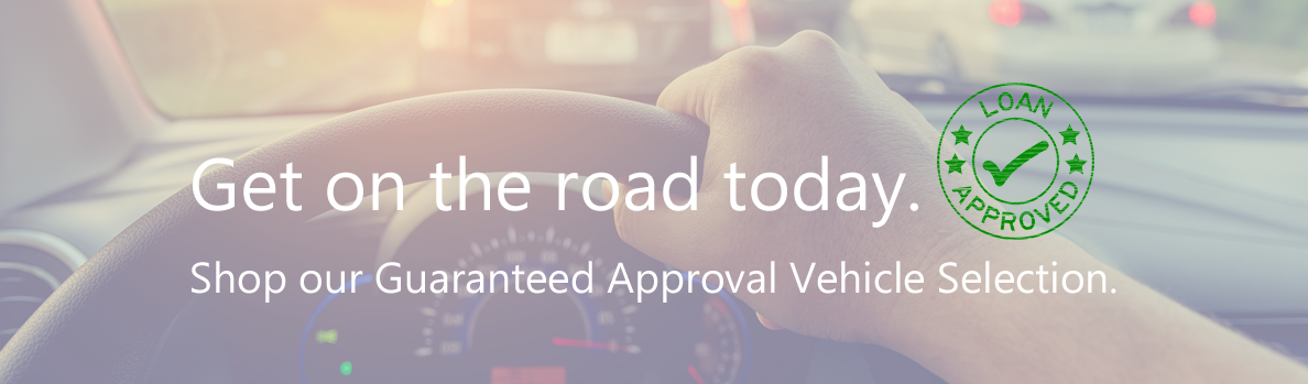 These Vehicles are applicable for Guaranteed Approval financing