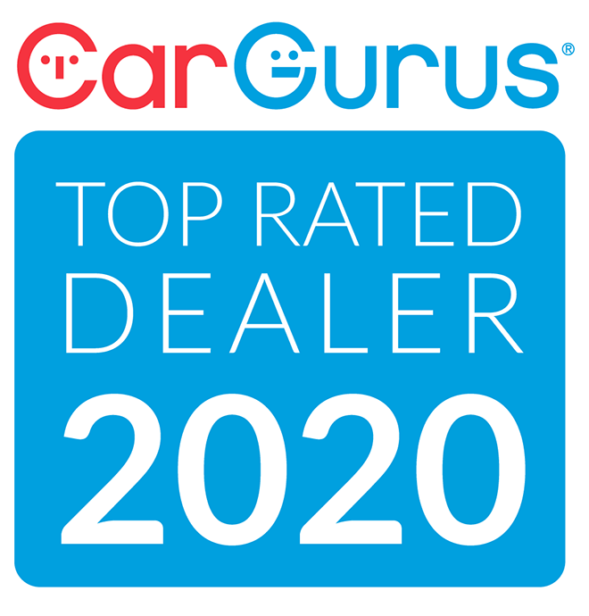 Car Guru's Top Rated Dealer 2019.